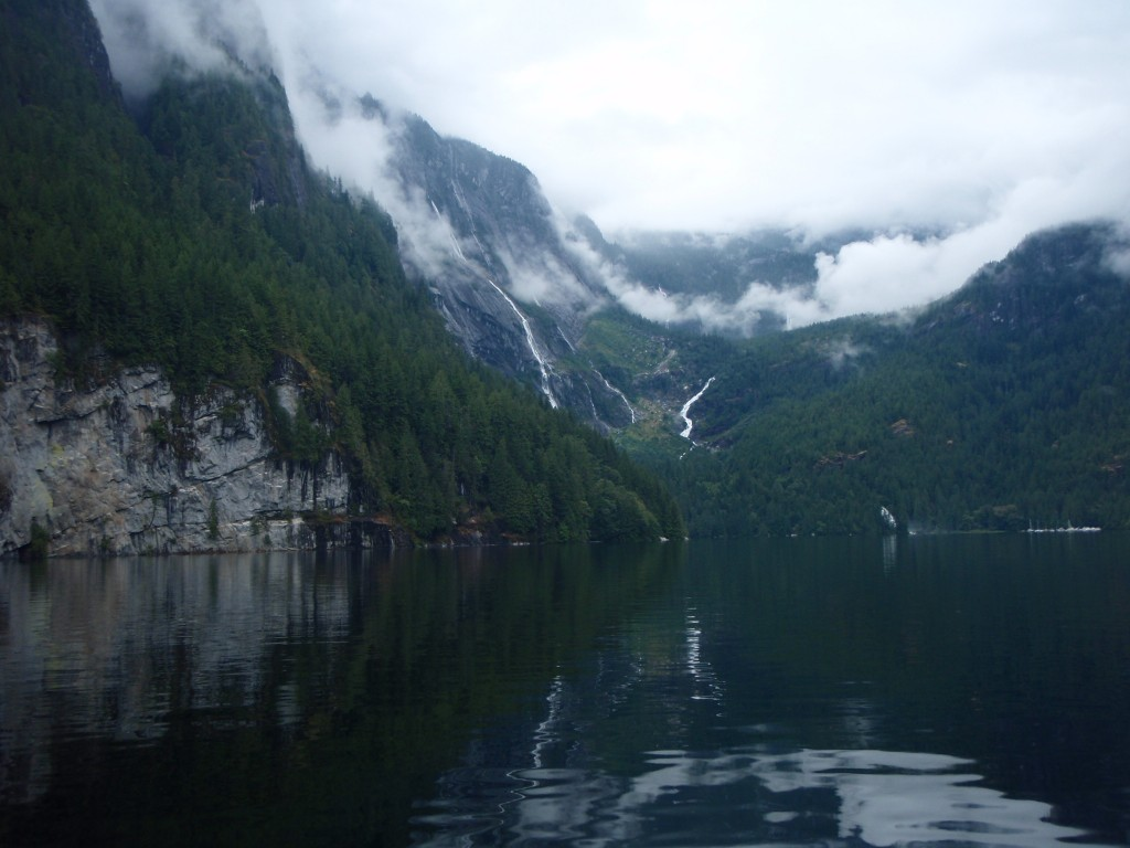 Into Princess Louisa Inlet