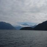 Entrance to Bute Inlet